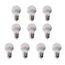 10Pcs 50*90mm E27 3W 220V Cool White Light LED Bulb