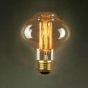 80*115mm Exclucive C80 220V  E27 40W Edison Bulb
