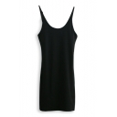 Plain Summer New Fitted Tunic Tank