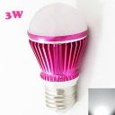 LED Bulb Rose Red 300lm E27 3W  Cool White Light