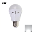 Cool White  Light 5W 2835SMD E27  Plastic LED Globe Bulb