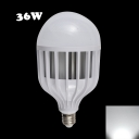 6000K 72Leds E14 36W LED Globe Bulb PC Material