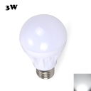 3W E27 Cool White Light LED Globe Bulb