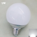 E27 220V 7W 6000K Chrome LED Globe Bulb