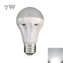 25Leds E27 7W Cool White Light LED Bulb 300lm 120°