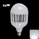 E14 24W 72Leds  6000K LED Globe Bulb PC Material