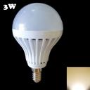 27Leds 180° E14 3W Warm White Light Globe Bulb
