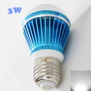 E27 3W Sky Blue 300lm Cool White Light LED Bulb