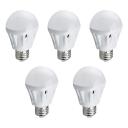 7W 220 E27 SMD2835 Warm White Light Ball Bulb