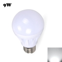 E27 9W Cool White Light LED Globe Bulb