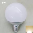 2700K Chrome E27 7W  LED Globe Bulb