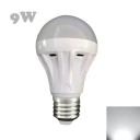 LED Bulb 300lm 120° 30Leds E27 9W   Cool White Light