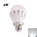 240lm E27 3W PC LED Globe Bulb Cool White Light