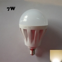 Warm White 7W 220V E14  LED Globe Bulb 2835SMD 180°