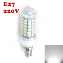 6500K 220V E27 6W Clear LED Corn Bulb