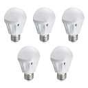 5Pcs 220 E27 5W SMD2835 Cool White Light Ball Bulb