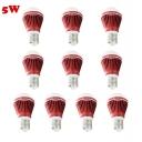 10Pcs Red 300lm E27 5W  Warm White Light Globe Bulb