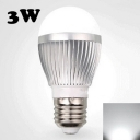 5730SMD 220V Cool White E27 3W LED Globe Bulb