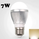 7W 220V Warm White E27  LED Globe Bulb