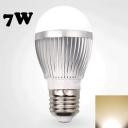 7W 220V Warm White E27  LED Globe Bulb