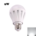 9W 2835SMD E27  PC LED Globe Bulb Cool White Light