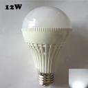 220V E27 12W 180° Cool White Lighted LED Globe Bulb