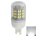 5W Clear Cool White 12-24V G9  LED Corn Bulb