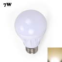 7W E27 Warm White Light LED Globe Bulb