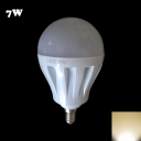 Warm White Light 27Leds 180° E14 7W  Globe Bulb