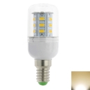 E14 220V 3W 24LED-5730SMD Warm White Corn Bulb