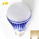 Dark Blue 300lm E27 3W  Warm White Light Globe Bulb