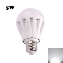360° E27 5W PC LED Globe Bulb Cool White Light