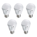 5Pcs 9W 220 E27 SMD2835 Cool White Light Ball Bulb