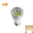 E27 220V 7W 110lm LED COB Par Warm White Light