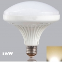 16W 2700K White Mushroom E27 LED Light Bulb