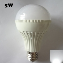 E27 5W 6000K SMD2835 180°  LED Ball Bulb in White