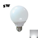 200lm E27 5W 25Leds Cool White Ligh LED Globe Bulb
