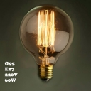 Industrial G95 95*145mm 220V  E27 60W Edison Bulb
