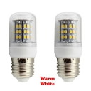 220V E27 48-SMD2835 3W  Warm White LED Corn Bulb