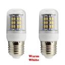 220V E27 48-SMD2835 3W  Warm White LED Corn Bulb