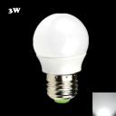 250LM 6000K E27 3W  LED Globe Bulb