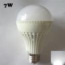 220V 7W  E27 180° Cool White Lighted LED Globe Bulb