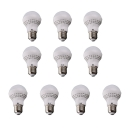 10Pcs 60*100mm E27 5W 220V Cool White Light LED Bulb