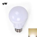 9W E27 Warm White Light LED Globe Bulb