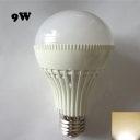 180° 220V E27 9W  Warm White Lighted LED Globe Bulb