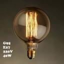 G95 220V  E27 145*90mm 40W Edison Bulb