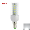 E12 6000K Clear 4W 220V LED Corn Bulb