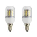 85-265V 6000K 2Pcs E14 Bulb 27-SMD5050