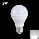 LED Ball Bulb 300lm E27 3W Cool White Light