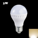 300lm E27 3W Warm White Light LED Ball Bulb